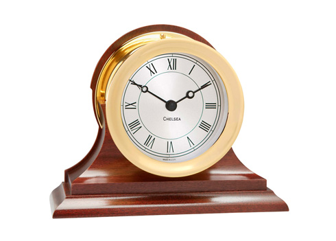 Chelsea Clock  Mantel Clocks Presidential Clock in Brass $580.00