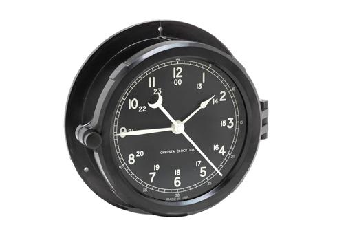 Clock - Black Dial