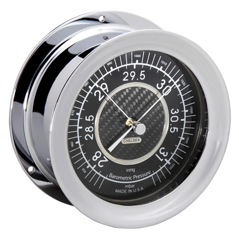 $700.00 Carbon Fiber Barometer, Nickel