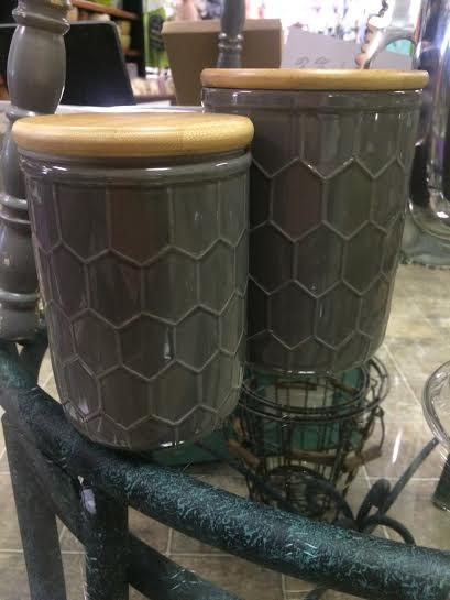 $15.95 Large Canister - Gray