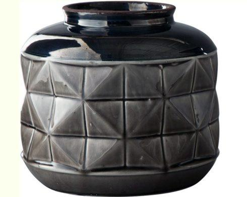 $40.95 SD Large Gray Vase