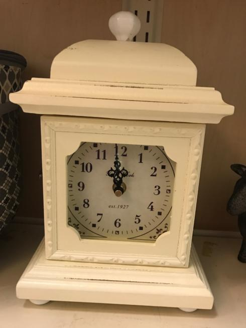Creative Co-op  Home Items Pale Yellow Clock $40.95
