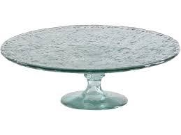 Shiraleah  Recycled Glass Cake Stand $46.95