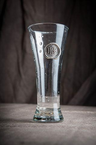 $24.00 Pilsner Glass - (with personalized letter or symbol)