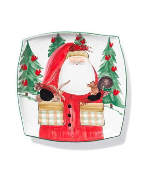 $128.00 Vietri Old St. Nick Square Platter