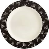 Accent/Salad Plate (Black Wish)