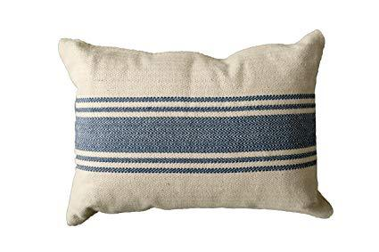 $32.95 Blue Stripes Pillow