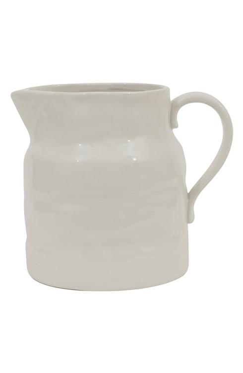 Creative Co-op  Kitchen Items White Pitcher $33.95