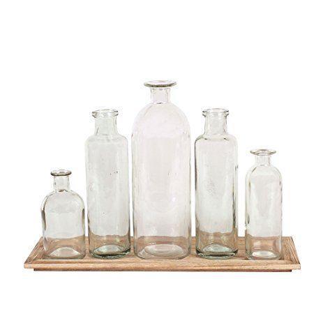 Creative Co-op  Home Items Bottle Vase Set $35.95