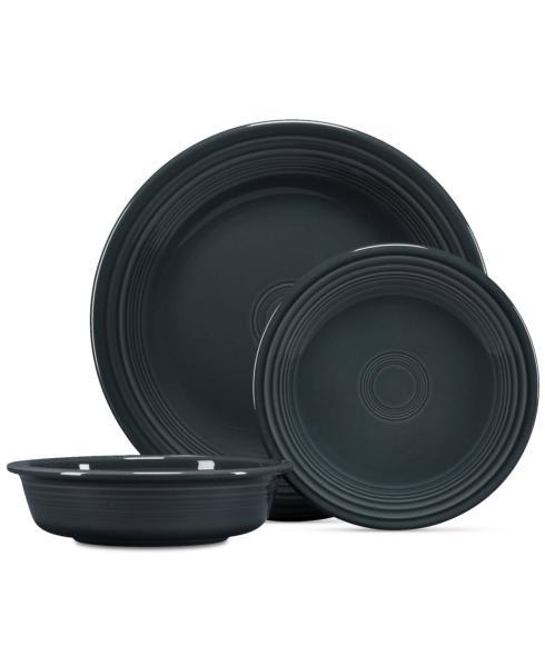 Fiesta   Salad Plate - Slate $16.00