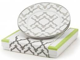 Creative Co-op   Gray and White Serving Tray $55.00
