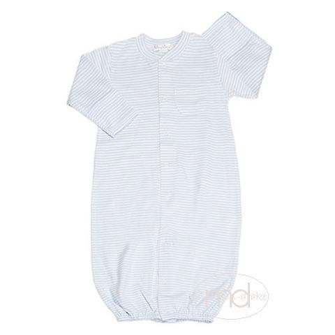 Kissy Kissy  Boys Nature's Nursery Stripe Gown - Blue $39.95