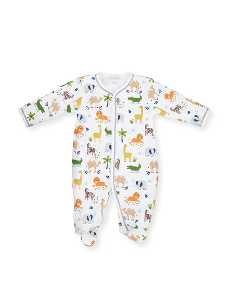 Kissy Kissy  Boys Jungle Jaunt Print Footie $43.95