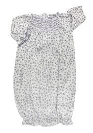 Kissy Kissy  Girls Lilac Rose Smock Gown $44.95