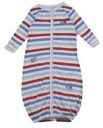 Kissy Kissy  Boys Little Diggers Stripe Gown $40.95