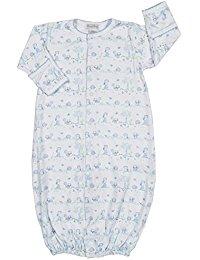 Kissy Kissy  Boys Nature's Nursery Gown - Blue $38.95