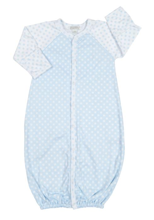 Kissy Kissy  Boys Polka Dot Gown - Blue $40.95