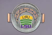 Magnolia Lane  LSU Tigers Metal Serving Tray w/ Handles $35.95