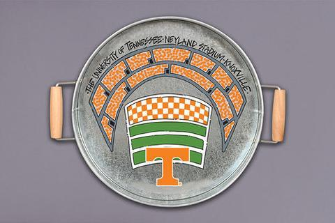 Magnolia Lane  Tennessee Vols Metal Serving Tray w/ Handles $34.95