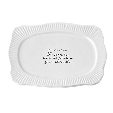 Mudpie   Give Thanks Tray $22.95