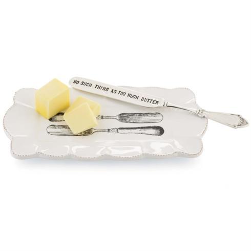 Mudpie   Butter Dish $21.95