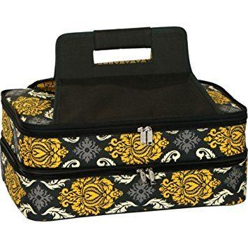 Oak and Olive   Provence Flair Rectangle Casserole Carrier $49.95