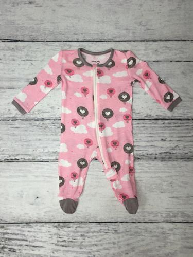 $33.95 SB - Pink Cloud Air Balloons onesie
