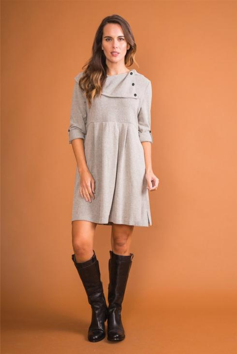 $59.99 Country Estate Dress - Gray - S/M