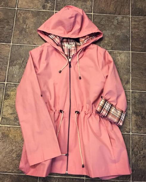 $89.99 Sun Showers Jacket - Watermelon - S/M
