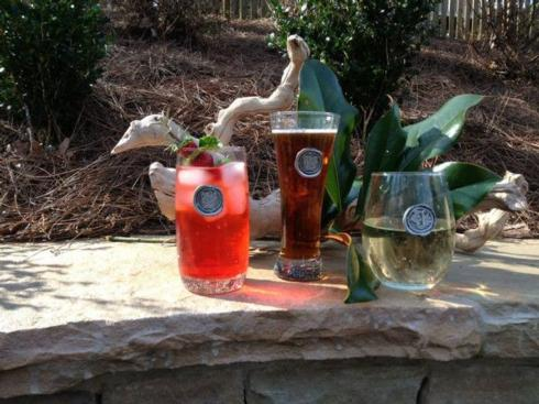 $24.00 Pub Glass - (with personalized letter or symbol)