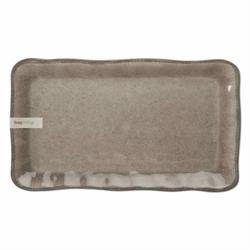 Tag  Melamine Gray Rectangle Tray $32.95