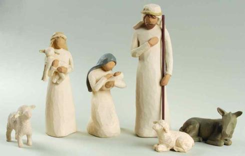 Demdaco  Willow Tree - Nativity 6 Piece Nativity Set $89.95