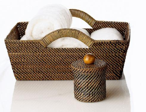 Calaisio Bathroom Collection Handwoven Tote Basket Tote Basket $89.00