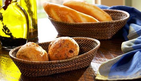 Calaisio Kitchen Collection Handwoven Basket Bread Basket $30.00