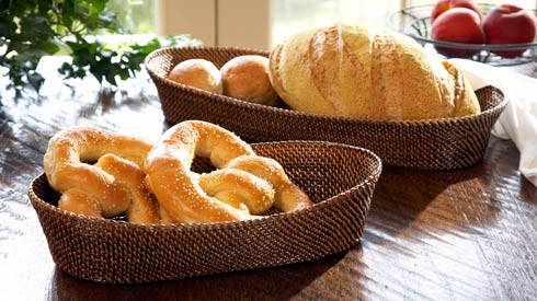 Calaisio Kitchen Collection Handwoven Basket Bread Basket $46.20