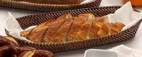 Calaisio Kitchen Collection Handwoven Basket Bread Basket $35.00