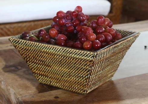 $164.00 Basket with Glass Bowl