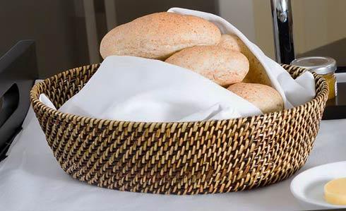 Calaisio Kitchen Collection Handwoven Basket Bread Basket $40.95