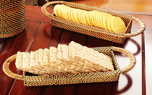 $84.00 Cracker Basket Set of 2