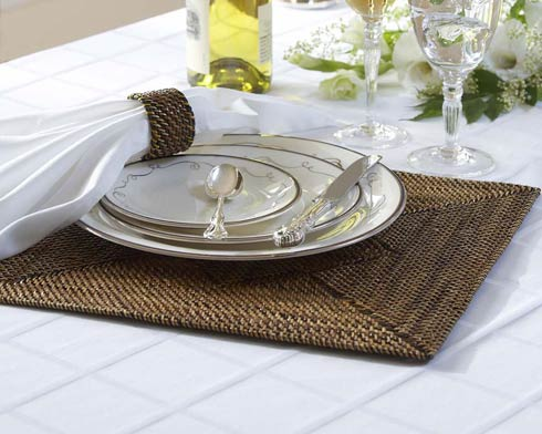 Calaisio Table Collection Handwoven  Placemat Placemat $175.00