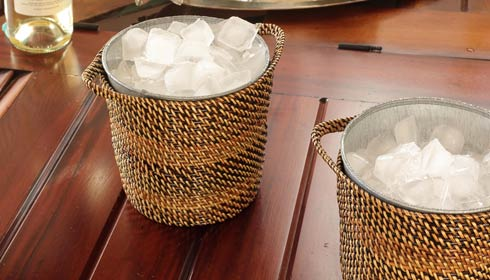 $52.00 Ice Basket with Galvanized Bucket