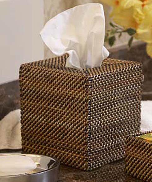 Calaisio Bathroom Collection Handwoven Bathroom Accessories Tissue Holder $41.00