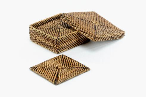 Calaisio Table Collection Handwoven  Coasters Drink Coasters $46.00