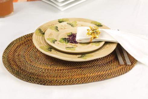 $174.00 Placemat Oval Set of 4 pcs