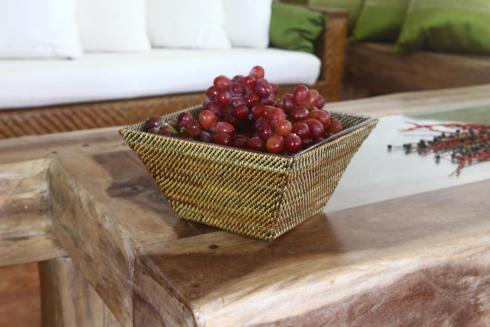Calaisio  Serving Glass Dish Collection Basket with Glass Bowl $150.00