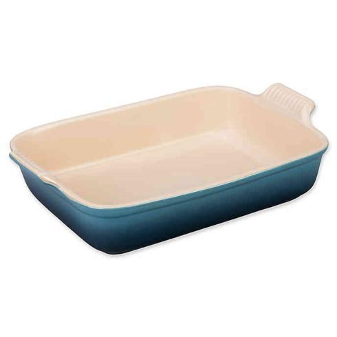 $75.00 Rectangle Dish Baker Caribbean
