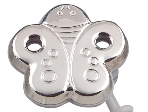 $50.00 Butterfly Pacifier Clip