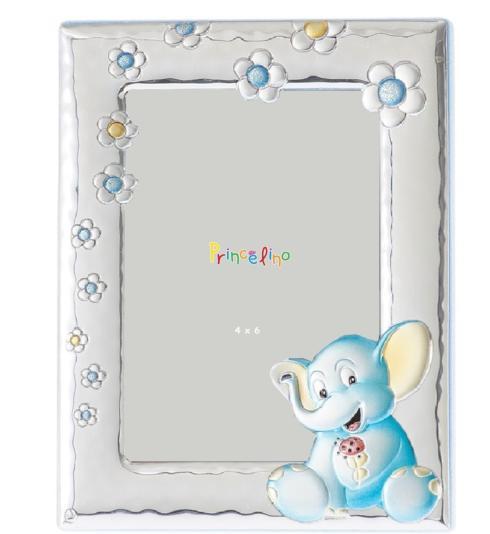 $59.00 Elephant Blue 5x7 Frame