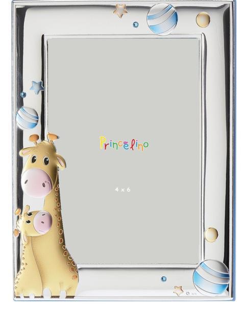 $50.00 Giraffe Blue 4x6 Frane