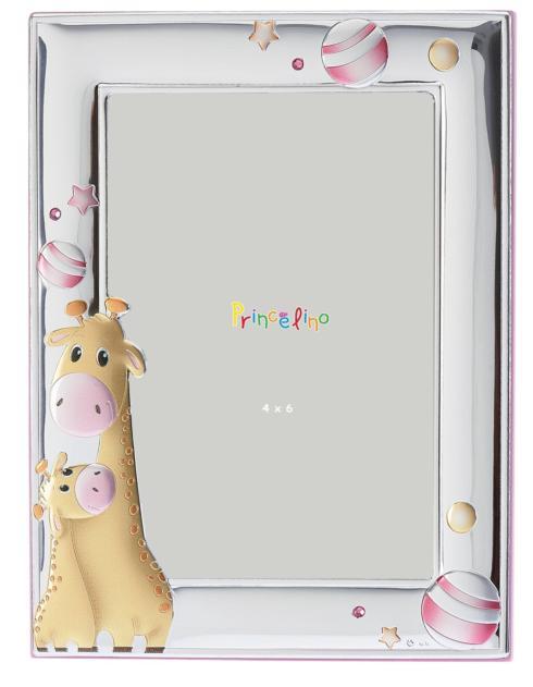 $50.00 Giraffe Pink 4x6 Frame